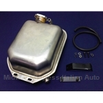 Coolant Expansion Tank KIT Stainless Steel (Fiat Bertone X1/9 All) - NEW