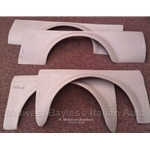 Fender Flare Panels Fiberglass SET (Fiat 128 SL Coupe / 3P) - NEW