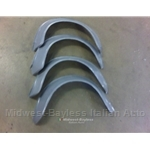 Fender Flares Fiberglass Set of Four (Fiat 124 Coupe) - NEW