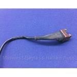 Fuel Injection Harness Connector 2-Wire THERMO-TIME (Fiat X19, 124, 131, Lancia) - U8