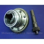 4-Spd Differential Carrier Assembly w/Ring and Pinion 17/64 3.76 (Fiat X19, 128, Yugo) - OE NOS