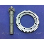 4-Spd Ring and Pinion SET 13/53 4.08 (Fiat X19 128 Yugo) - U8