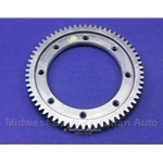 4-Spd Ring Gear 64T 3.76 (Fiat X19, 128, Yugo) - OE NOS