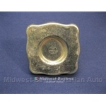 Fuel Filler Cap 1/4 Turn(Fiat 850 Sedan, Coupe, Dino) - OE NOS