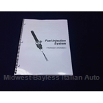 Fuel Injection Diagnosis Guide (Fiat Pininfarina 124 Spider, X1/9, Brava, Lancia) - NEW