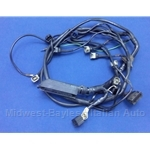 fuel injection wiring harness sub-harness (fiat 124 spider 1980-82) - u8  midwest bayless