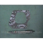 Water Jacket Gasket Front SOHC 1.3 (Fiat X1/9 128 Yugo) - OE NOS