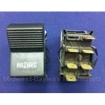 Hazard Switch (Fiat 124 Coupe, 128 1972) - OE NOS