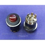 Hazard Switch (Fiat 124 Spider 2000 1979-82) - U8