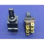 Hazard Switch (Fiat 850 1968-72) - OE NOS