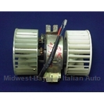 AC / Heater Blower Fan Motor Assembly (Fiat Bertone X19 1980-88 w/AC) - U8