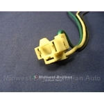 Headlight / Turn Signal Flasher Relay Connector (Fiat Lancia All) - U8