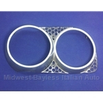 Headlight Bezel Left (Fiat 124 Coupe 1970-72) - U8
