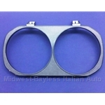 Headlight Bezel Left Black (Lancia Beta Coupe Zagato 1979-12/1980 + 1975-78) - OE NOS