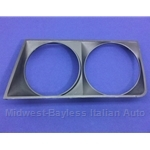 Headlight Bezel Left Black (Lancia Beta Sedan 1979) - OE NOS