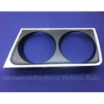 Headlight Bezel Left Chromed (Lancia Beta Sedan 1975-78) - OE NOS