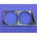 Headlight Bezel Right Black (Lancia Beta Sedan 1979) - OE NOS