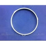 Headlight Bulb Chromed Retaining Ring Left (Fiat Bertone X19 All) - U8