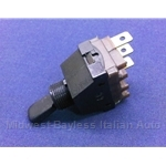 Headlight Switch 3-Pin / 2-Pos (Fiat 124 Spider 1970-71) - OE