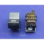Headlight Switch 5-Pin / 2-Pos (Fiat 124 Coupe 1970-71, Sedan Wagon, 128 Sedan 1970-71) - OE NOS