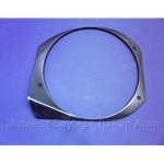 Headlight Bucket Outer Trim Left (Fiat Bertone X1/9 All) - OE NOS