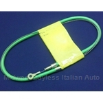 Accelerator Cable Assembly (Fiat X1/9 4-Spd 1973-78, Scorpion) - NEW