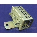 Heater Fan Switch Ballast Resistor (Fiat Bertone X1/9 1979-88, Lancia Scorpion, Beta w/AC) - OE