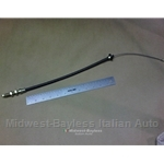 Accelerator Cable w/Housing Fuel Injection (Fiat 131 Brava 1980-82) - OE NOS