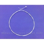 Hood Release Cable Inner Wire 1000mm (Fiat 124, 128, 131 All) - OE NOS