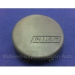Horn Button Dark Brown (Fiat Strada 1980-81) - OE NOS