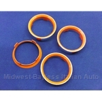 Hub-Centric Centering Ring SET of 4x (adapts 60.1mm --> 58.1mm) - NEW