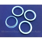 Hub-Centric Centering Ring SET of 4x (adapts 64.0mm --> 58.1mm) - NEW