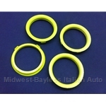 Hub-Centric Centering Ring SET of 4x (adapts 67.1mm --> 58.1mm) - NEW