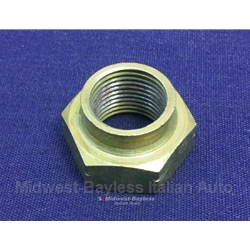 Spindle / Stake Nut - LHT Right Front 18mm (Fiat 124, 131, 1100, 1200) - NEW