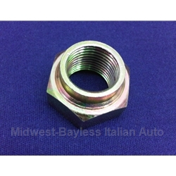 Spindle / Stake Nut - RHT Left Front 18mm (Fiat 124, 131, 1100, 1200) - NEW