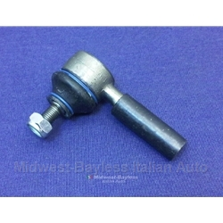 Tie Rod End Outer w/LHT (Fiat 124 Spider Coupe, 850, 600D, Lancia) - NEW