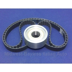 Cam Timing Belt + Tension Bearing KIT DOHC 2.0L (Fiat 124, 131, Lancia Montecarlo 1979-On) - NEW
