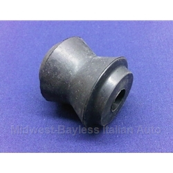 Trailing Arm - Upper / Panhard Rod 18mm Rubber Bushing - 1-Piece (Fiat 124 1973 to 1978.5 + 1967-72) - NEW