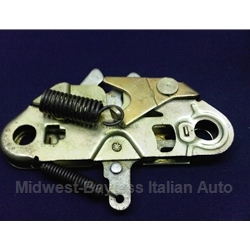 Hood Latch (Fiat 124 Coupe 1967-72, 128 Sedan/Wagon) - OE NOS
