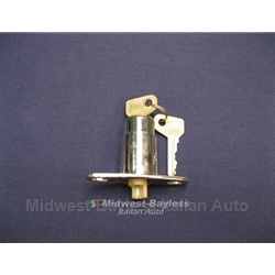 Trunk Lock Assembly With Keys (Fiat 124 Sedan 128 Sedan All) - OE NOS