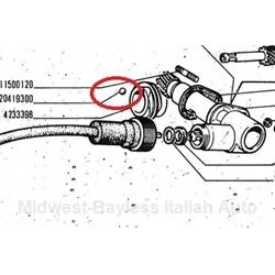 Fiat 124 S-C Speedometer Drive Gear Retainer Ball Bearing