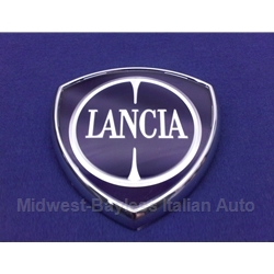 "Badge Emblem ""Lancia"" 83mm  (Lancia Beta, Scorpion, Delta, Others)  - NEW"