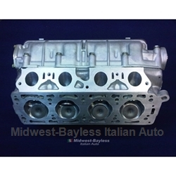 Cylinder Head DOHC 2.0L Assembly 1980-On FI or Euro Carb (Fiat Pininfarina 124 Spider, 131 1980-on) - REBUIT