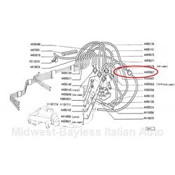 Fiat 124 S-C Pollution Control Bypass Valve (Fiat 124