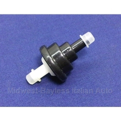 Check Valve for Fuel Vapor (Fiat 124, X19, 131, 128, Lancia) - OE NOS