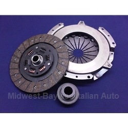 Clutch KIT  Cover + Disc + Bearing (Fiat 124 Spider, Coupe 1971-On, 131/Brava All) - NEW