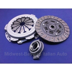 Clutch KIT Cover + Disc + Release Bearing -  Thin Style (Fiat X19, 128 1975-On 4-Spd) - NEW