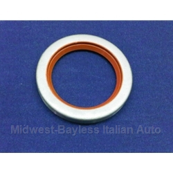 Crankshaft Main Seal - Front - Silicone (Fiat Lancia SOHC DOHC All) - NEW