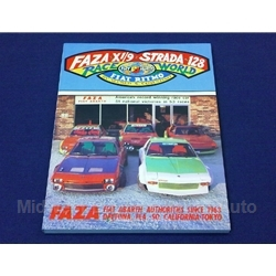 FAZA Fiat X1/9 128 Strada Race World by Al Cosentino - NEW